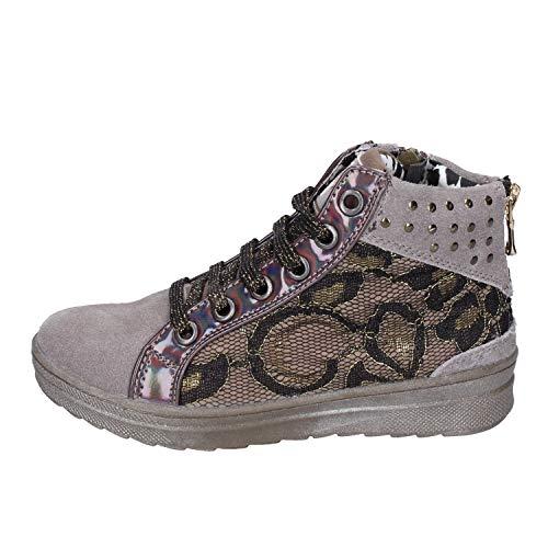 DIDI BLU Fashion-Sneakers Baby-Girls Suede Beige 12-12.5 US