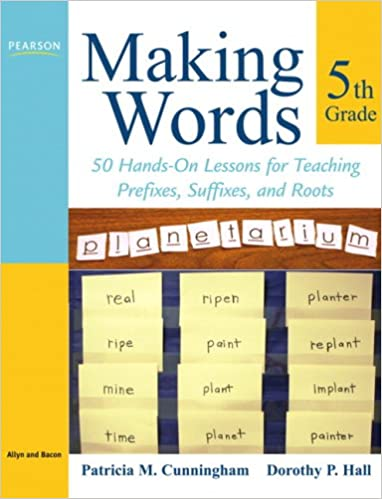 Amazon.com: Making Words Fifth Grade: 50 Hands-On Lessons for ...