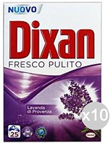 Juego 10 Dixan carga 25 Cucharas Medidoras lavanda polvo caja ...