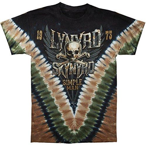 Lynyrd Skynyrd - Simple Man T-Shirt - Tie-Dye-Technik