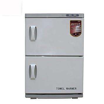 AA-SS Esterilizador de Toallas, 46L UV Calentador de Toallas Equipo de gabinete de Belleza 2 en 1 con Bandeja extraíble para el Hotel Salon SPA: Amazon.es: ...