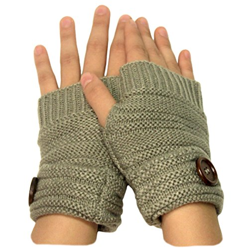 charcoal-magic-stretch-fingerless-gray-glove-texting-fingerless-mitten-chunky-knit