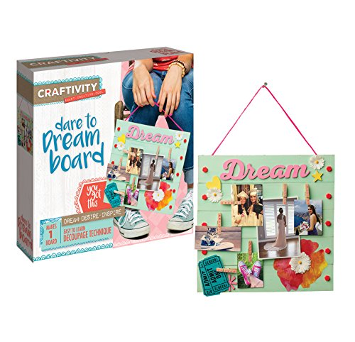 CRAFTIVITY Dare to Dream Board Craft (Gift Ideas For 8 Year Old Girls)