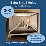 EVEN NATURALS Luxury Mosquito Net for Bed