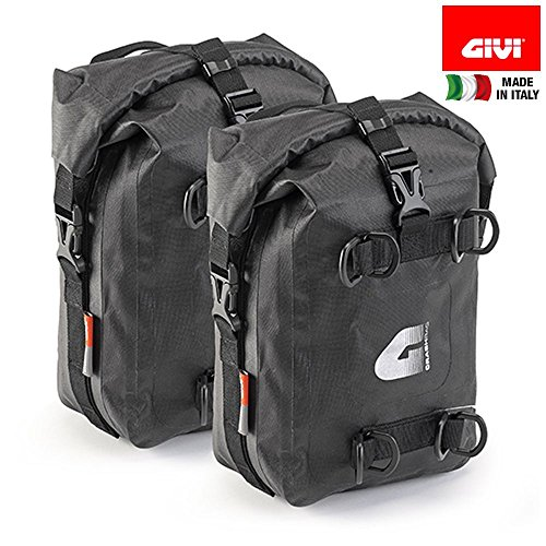 PAIR OF ENGINE GUARD BAGS GIVI T513 WATERPROOF CAPACITY 5 LITERS