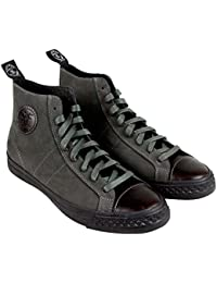 Todd Snyder Rambler Hi Mens Grey Nubuck High Top Sneakers Shoes