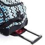 CALPAK Plato 21-Inch Rolling Upright Duffel Bag