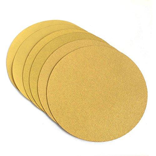 25 Pack, 400 Grit 9 Inch Drywall Hook and Loop Grip Sanding Discs
