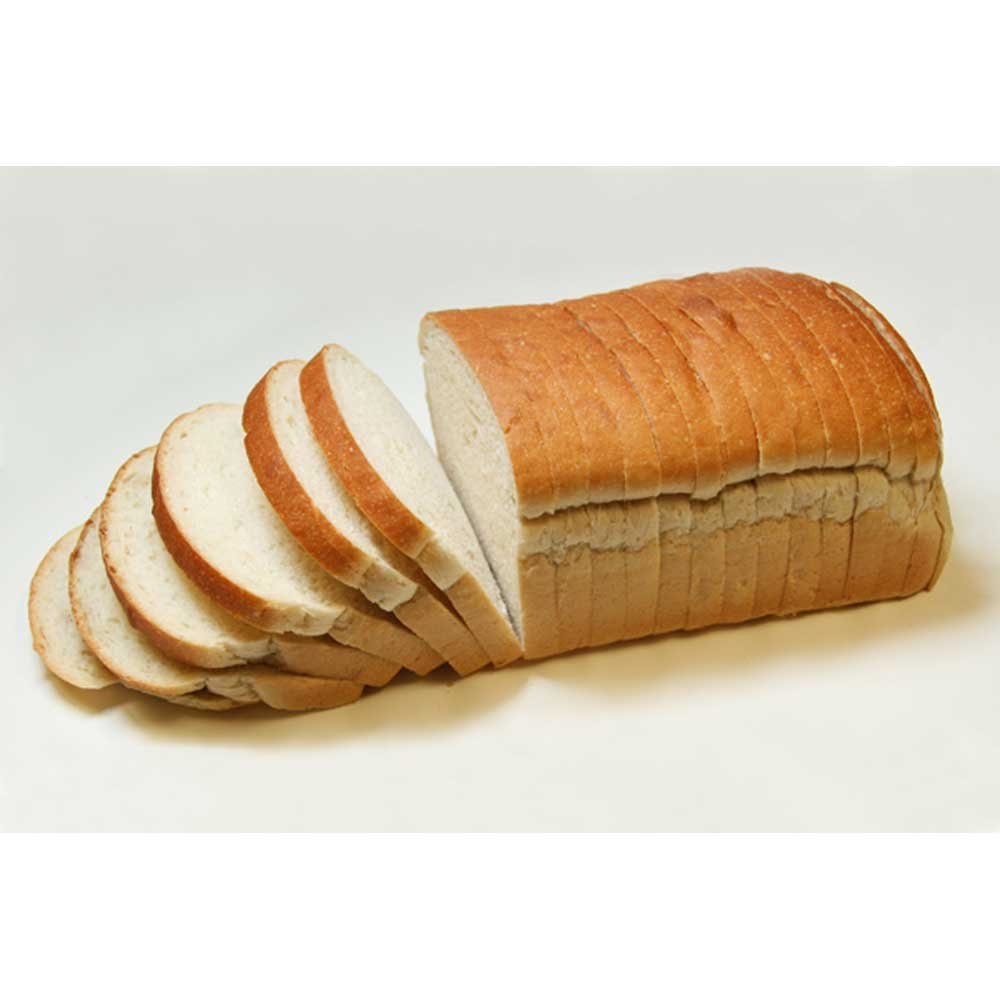 Rotellas Sliced Sour Pillow Bread Loaves, 5/8 inch - 6 per case.