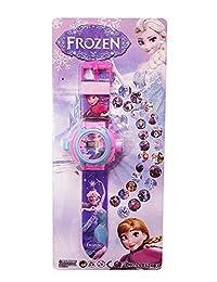 Nexxa Frozen - Reloj proyector de Imagen de Dibujos Animados