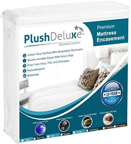 PlushDeluxe Encasement Waterproof Protector Hypoallergenic product image