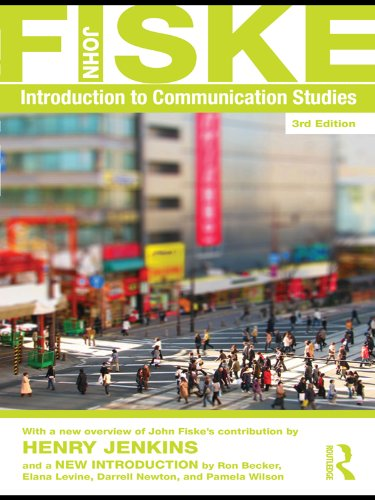 Download Introduction to Communication Studies (Studies in Culture and Communication) Pdf