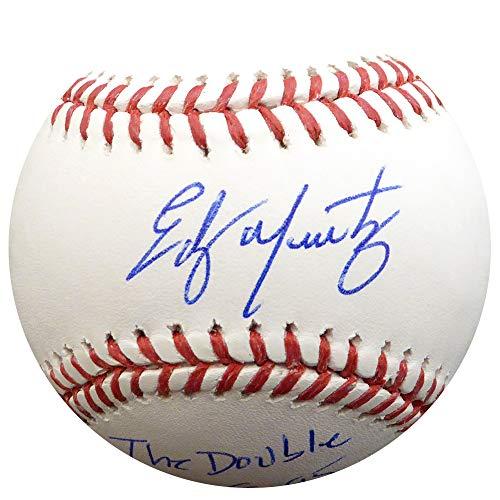 Edgar Martinez Autographed Official Major League Baseball Seattle Mariners