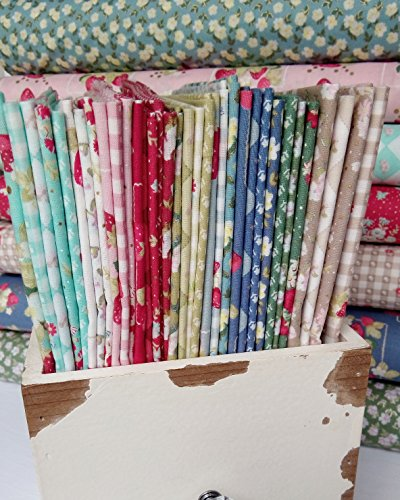 34 Fat Quarters Bundle of Lecien's LA CONNER Fabrics by Jera Brandvig by LECIEN
