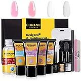 BURANO Poly Nail Gel Kit,Extension 30ml Easy Nail