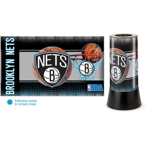 NBA Brooklyn Nets Rotating Lamp by WinCraft