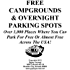 Guide To Free Campgrounds & Overnight Parking Spots