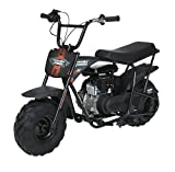 Automotive : Monster Moto Classic Mini Bike -Assembled in the USA- MM-B80-BR - Black/Red