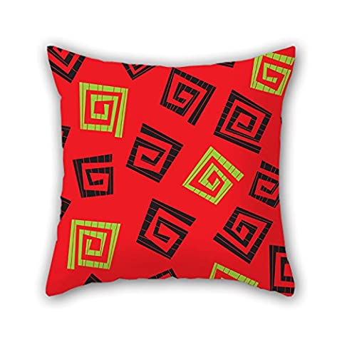 NICEPLW 18 X 18 Inches / 45 By 45 Cm Geometry Pillow Cases,both Sides Is Fit For Teens,home,study Room,relatives,kids,birthday
