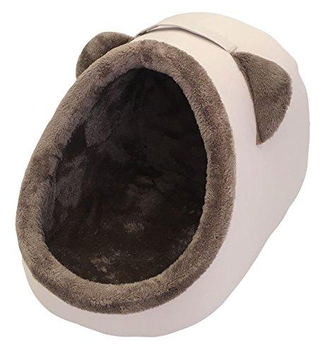 Heritage - Cama con forma de iglú para mascotas, cueva cálida para gatos o perros: Amazon.es: Productos para mascotas