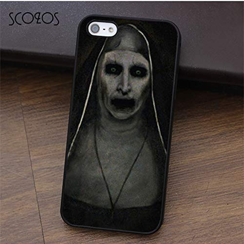 amazon com the conjuring 2 iphone 8 case demon nun painting valak