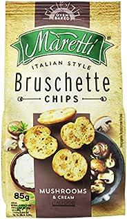 Maretti Bruschetta com Cogumelos e Creme