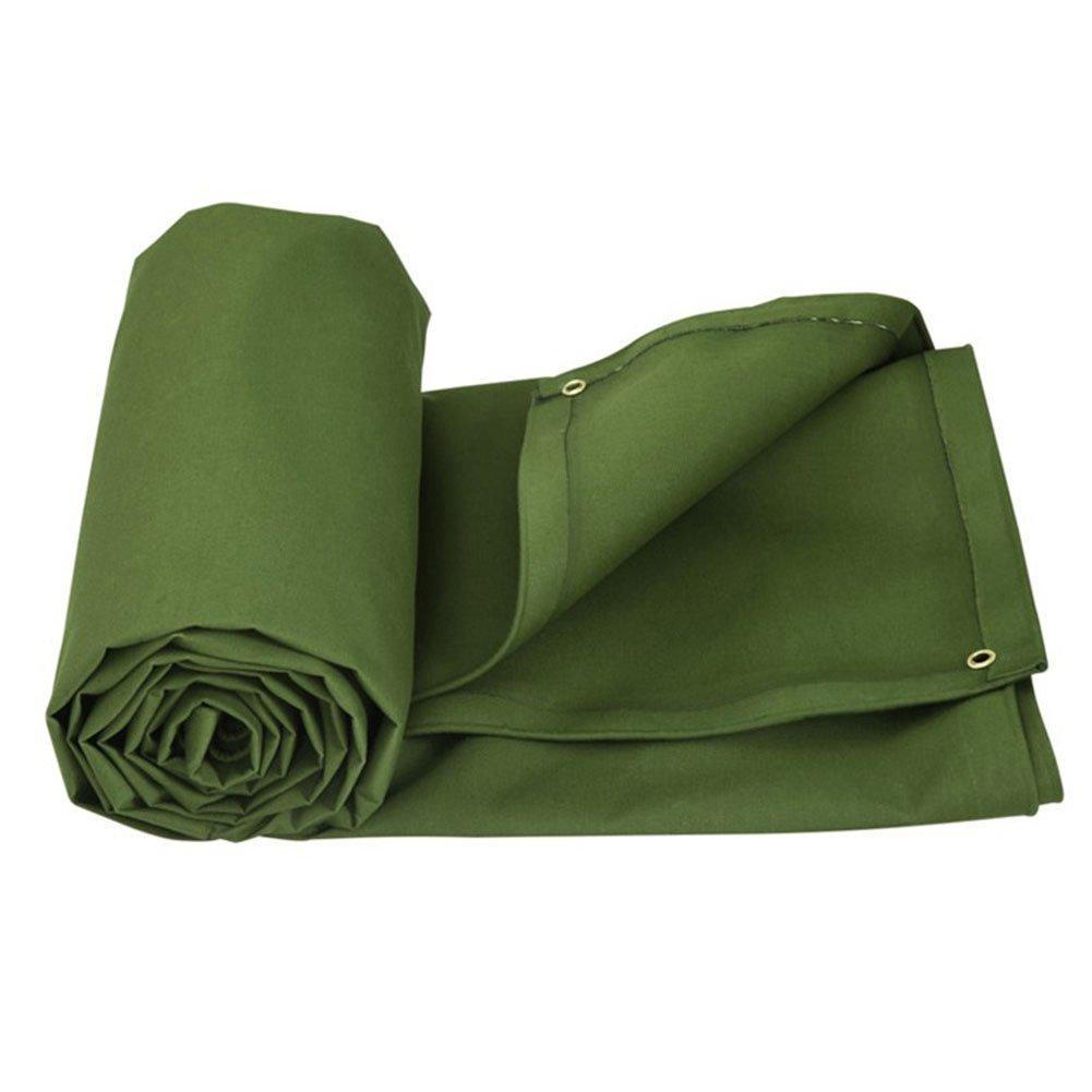 木綿の布 緑 日焼け止め布 カバー布 防水布 日を遮る布 キャンバス 厚い 湿気を防ぐ 断熱 塵を防ぐ 耐摩耗 空気を通す,300 * 200Cm B07FT6YQGW 300*200cm  300*200cm
