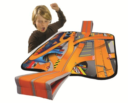 Hot Wheels ZipBin Ramp It Up! 100 Car Tote with 1 Car