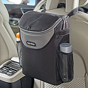 Barrier of Backseat Pet Kids Driver Storage Netting Pouch Cargo Tissue Purse Holder Seat Back Net Bag Henzxi 2-Layer Car Mesh Organizer
