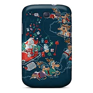 Ideal JoinUs Case Cover For Galaxy S3(xmas Roller Coaster), Protective Stylish Case