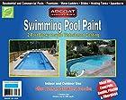 Swimming Pool Paint, 2-Part Epoxy Acrylic Waterbased Coating, 1 Gallon Kit - Cool