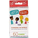 LetzTalk Conversation Starter and Question Cards - Builds Self-Esteem and Confidence in Teens