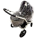 Raincover Compatible with Britax Affinity B-Smart Dual Carrycot (198) by For-your-Little-One