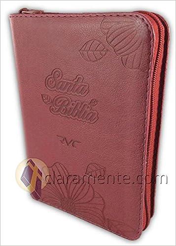 Santa Biblia Compacta Letra Grande Con Cierre Reina Valera