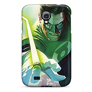 Tpu Case Cover Compatible For Galaxy S4/ Hot Case/ Green Lantern I4