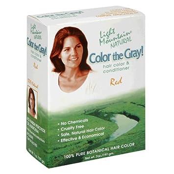 Amazon.com : Light Mountain Natural Color The Gray! Hair Color ...