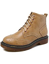 JiYe Women's Shoes Suede Classic Ankle Boots