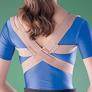 Oppo Medical Elastic Posture Aid /Clavicle Brace (Unisex; Natural), XXX-Large