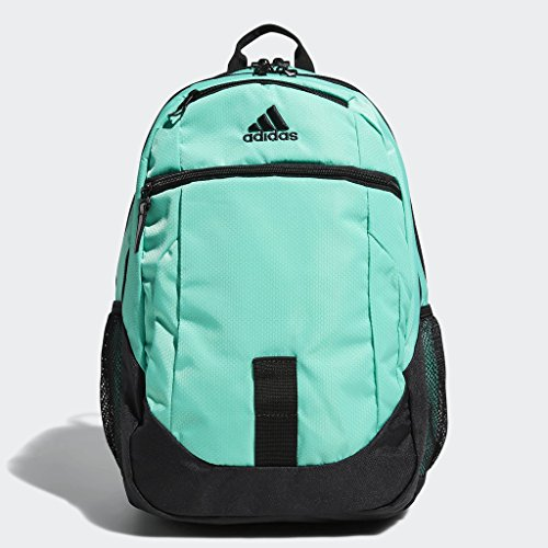 adidas Foundation Backpack, Med Green, One Size