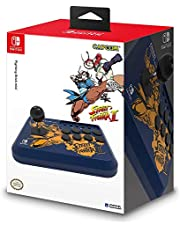 HORI Nintendo Switch Fighting Stick Mini - Street Fighter II™ Edition (Chun-Li & Cammy) Officially Licensed by Nintendo & Capcom