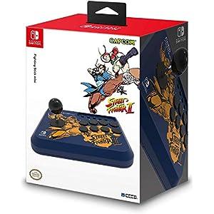 51kkRMYgfIL. SS300 HORI Nintendo Switch Fighting Stick Mini - Street Fighter II™ Edition (Chun-Li & Cammy) Officially Licensed by Nintendo…