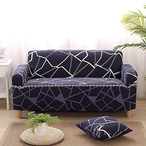 Modern Printing Elastic Stretch All-Inclusive Sofa Cover Tight Wrap Washable Universal Furniture Couch Cover for Living Room   color 8, 4seater 235-300cm