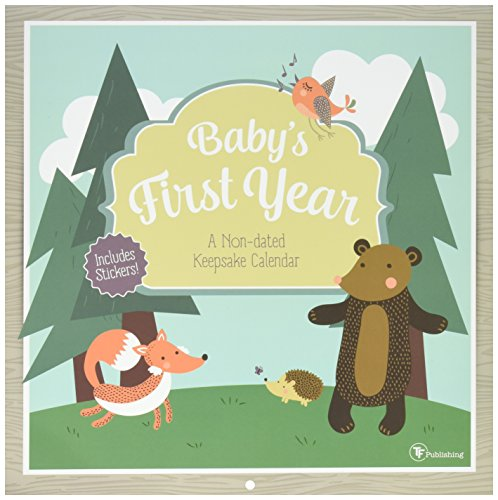 TF Publishing Baby's First Year Woodland Non Dated Wall Calendar (17-1100)