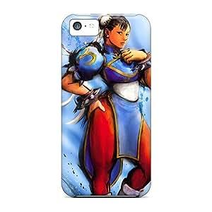 Bernardrmop Fashion Protective Chun Li Case Cover For Iphone 5c