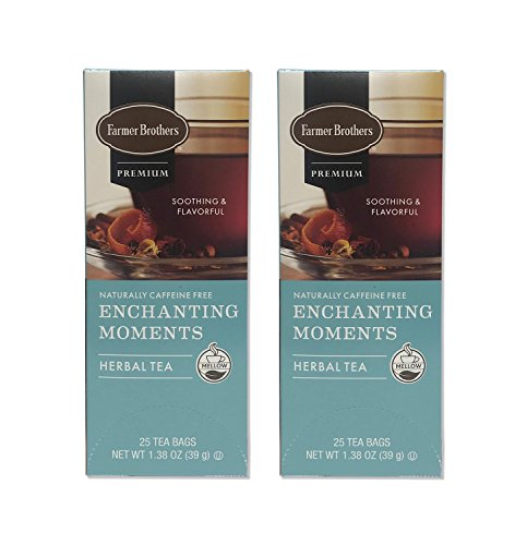 Farmer Brothers Premium: Enchanting Moments Herbal Tea - 2/25 ct boxes