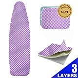 Best Ironing Board Covers - BRAMING 53-54 Inch Ironing Board Cover and Pad Review