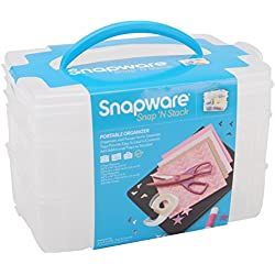 Snapware Snap 'n Stack Craft Organizer Medium Rectangle-3 Layers