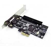 PCI Express Adapter Converter expansion Card 2 Port SATA II 2.0 RAID & 1 IDE PCI-E raid controller