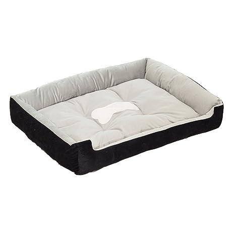 Sofá cama cuna cojín para perros perro Pet Animales Negro M(70*50*