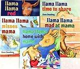 img - for Llama Lama 5-Book Pack: Llama Llama Red Pajama, Llama Llama Time to Share, Llama Llama Misses Mama, Llama Llama Mad at Mama, Llama Llama Home with Mama book / textbook / text book